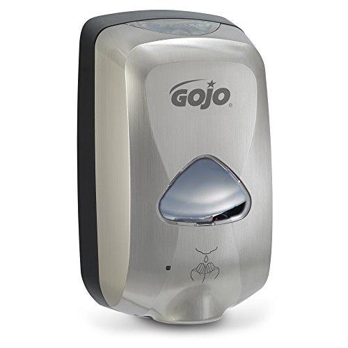 GOJO 278912 TFX Touch-Free Soap Dispenser, 1200mL, Nickel by Gojo