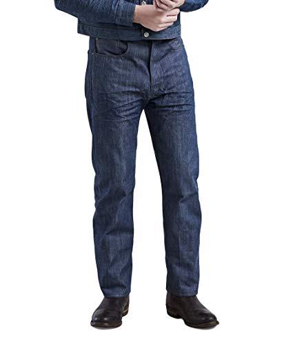 Levi's Vintage Clothing Jeans XX501 Originale da 1890 senza Lavaggio 90501-0009 Rigid Colore Blu. Rigido 32W x 32L