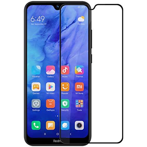 NILLKIN CP+ Pro - Protector de Pantalla Compatible con Xiaomi Redmi Note 8T Cristal Templado Dureza 9H Ultrafino Bordes Redondeados 2.5D Vidrio Premium Cobertura Completa