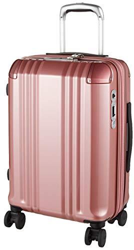 [エー・エル・アイ] スーツケース デカかる Edge 53.5 cm 3.1kg ピンクゴールド