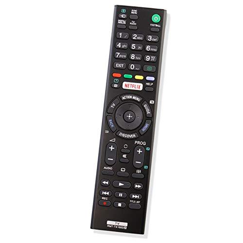 ALLIMITY RMT-TX100D RMTTX100D Fernbedienung Ersetzen fit für Sony Bravia TV FW-75X8570C KD-43X8305C KD-65X8505C KD-65X8507C KDL-50W755C KDL-65W855C KD-49X8308C KDL-32EX723 KDL-40CX521