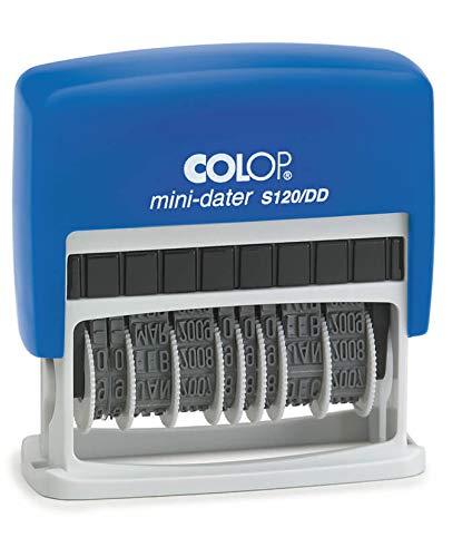 COLOP S120/DD Mini dubbele datum stempel