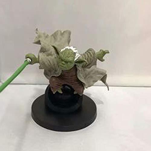 RSWLY Star Wars Animationsmodell, Modell Yoda Statue, Schreibtischdekoration, 15 cm