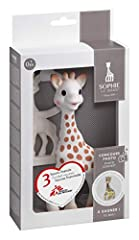 Includes: Sophie la giraffe, a teether 100 percent natural rubber Gift set for the photo competition Sophie la giraffe bonniest baby