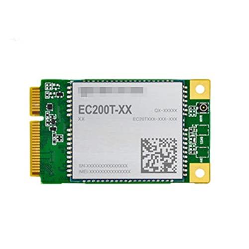 IGOSAIT Nuevo Módulo Original de LTE EC200T EC200T-UE Mini PCIE CAT4 Módulo para Europa LTE-FDD B1 /B3/B7/B8/B20/B28 LTE-TDD B38 /B40/B41 (Color : EC200T AU Mini PCIE)