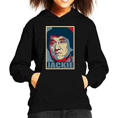 Cloud City 7 Jackie Chan Hoop Sweatshirt met capuchon voor kinderen