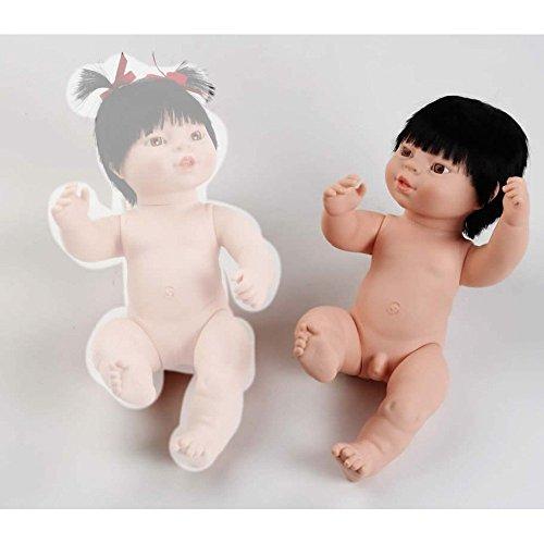 Berjuan Asian Boy Neugeborene 38cm Puppe