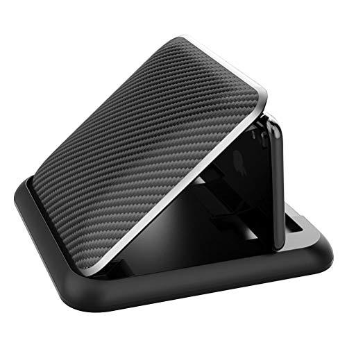 Knowoo Soporte de teléfono para coche, cierre automático, clip de coche, soporte universal para teléfono móvil, compatible con y todos los demás teléfonos inteligentes