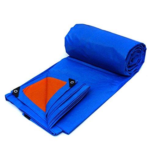Bâche imperméable robuste - Bâche bleue universelle - Housse de qualité supérieure en toile de 175 g/m² (taille : 2X3M)