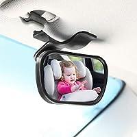ベビーカーミラー、ベビーセーフティカーミラー調節可能な背中シート背面図の背中シート背面図の鏡の安全を監視するために使用される吸盤のカップ