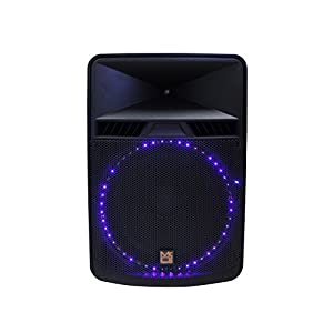Mr. Dj PBX5500LED 2 Way Bass Reflex Active Speaker, Max Power P.M.P.O Built-in Bluetooth