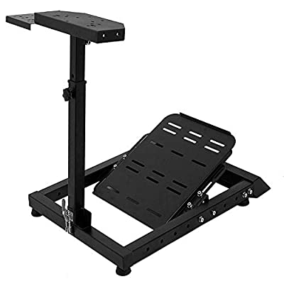 Marada Sim racing Wheel Stand SPRO - Edition Racing Simulator for Lgitech G25, G27, G29, G920, Racing Wheel Stand Thrustmaster And Fanatec Wheel and Pedals are Not Included
