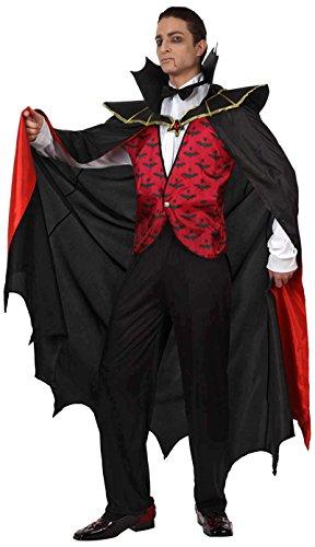 Preisvergleich Produktbild Atosa 93583 - Verkleidung Vampir Rot,  Erwachsene Gr. 50-52