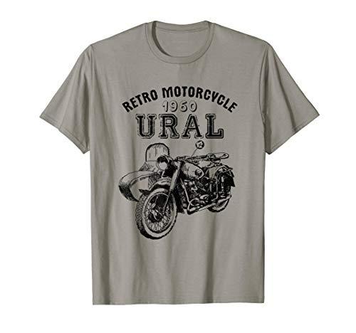 Retro Motorrad Ural Motorcycle T-Shirt