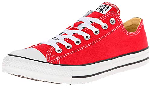 Converse Chuck Taylor All Star Ox, Zapatillas Unisex Adulto, Rojo Tango Red...