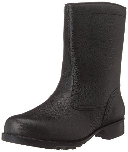 [ミドリ安全] 安全靴 JIS規格 半長靴 V2400N メンズ ブラック 25.5