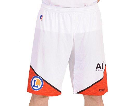 Spalding Bourg JL EN-Bresse Replica Home Short Basketball Herren M weiß