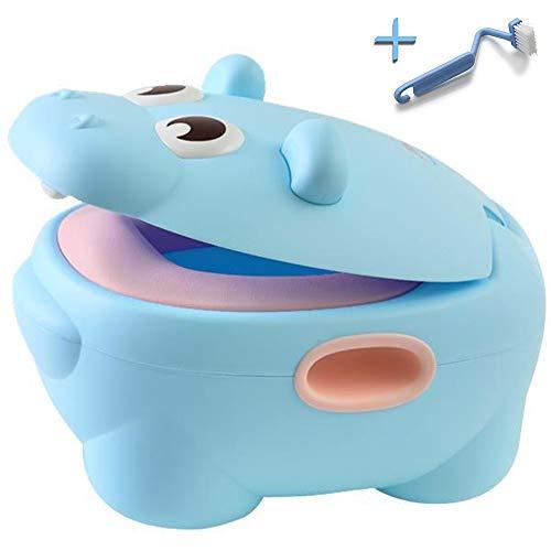 HIPPOTTY Vasino Per Bambini Design 2020 3a Generazione Water WC Riduttore Portatile Da Viaggio Antiscivolo Antiribaltamento Ergonomico Training Toilette Vasetto Scomponibile Bimbo Neonato