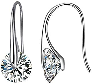 Mestige Eclipse Drop Dangle Earrings with Swarovski® Crystals, Gift