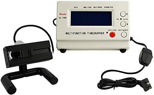 H HUKOER Mechanischer Kalibrator Uhrentester Timegrapher Mechanischer Werkzeugmaschinentester Reparaturwerkzeuge Uhren Kalibrierung Automatischer LED-Bildschirm