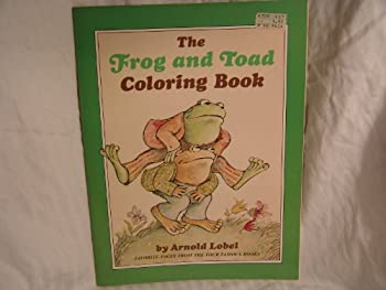 Frog and Toad-Coloring Book - Book  of the Frog and Toad