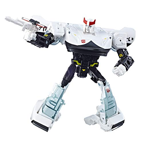 Transformers Toys Generations War for Cybertron Deluxe Wfc-S23 Prowl Action Figure - Siege Chapter - Adults & Kids Ages 8 & Up, 5