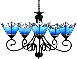 Best blue stained glass chandelier Reviews