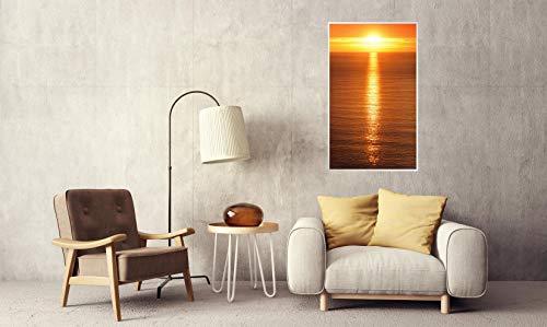 Könighaus Fern Infrarotheizung – Bildheizung in HD Qualität mit TÜV/GS – 200 Bilder – 450 Watt (45. Sonnenuntergang Meer) kaufen  Bild 1*
