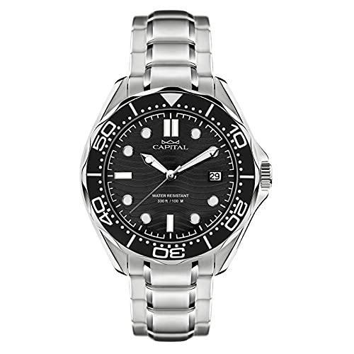 Reloj Time For Man Capital Cuarzo AX738-03*OI