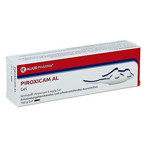 PIROXICAM AL Gel entzündungshemmend und schmerzstillend, 100 g Gel