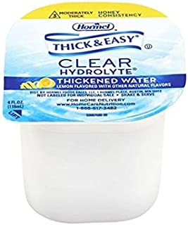 Hormel Thick & Easy Hydrolyte Thickened Water Honey Consistency 4 ounce (Pack of 24)