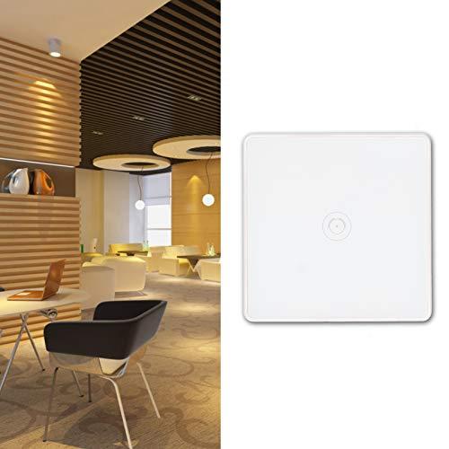 Interruptor Inteligente Interruptor de luz Wi-Fi Control Remoto de teléfono Blanco Compatible con Alexa/Echo Dot/Google Home/IFTTT