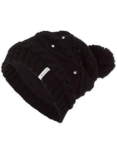 Rip Curl Gorro Neottie para Mujer, Color Negro Azabache, Talla única