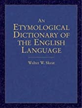 oxford etymological dictionary of the english language