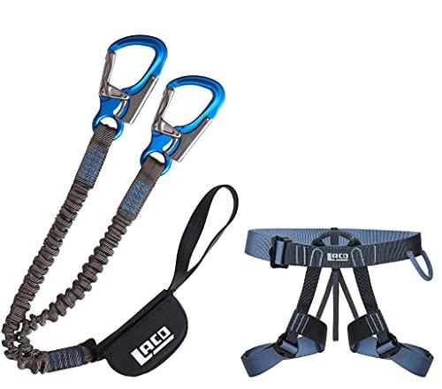 LACD Klettersteigset Pro Evo Blue + Klettersteiggurt Easy Exp