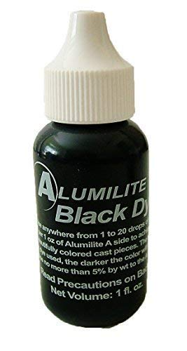 Alumilite Colorant Single Color Liquid Pigment Dye Black