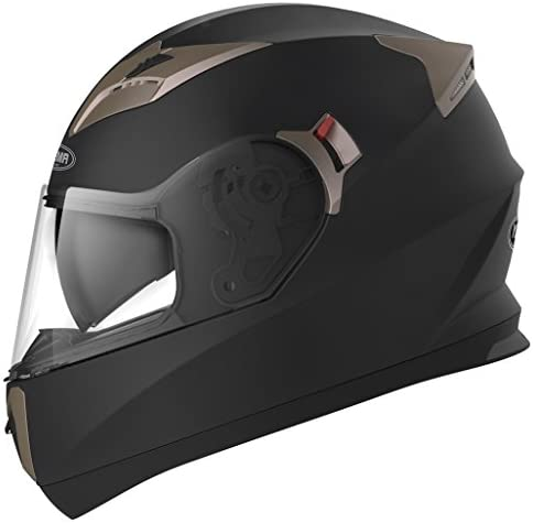 Motorcycle Full Face Helmet DOT Approved YEMA YM 829 Motorbike Moped Street Bike Racing Casco product image