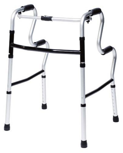 Lumex 3-in-1 UpRise - A Folding Walker, Stand-Up Aid, & Toilet Safety Rail - 700175CR