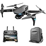 WECDS-E Drone de fotografía Plegable S189 6CH 4K HD Cámara Dual Posición GPS Cuadricóptero RC sin escobillas con Bolsa de Almacenamiento para niños Adultos