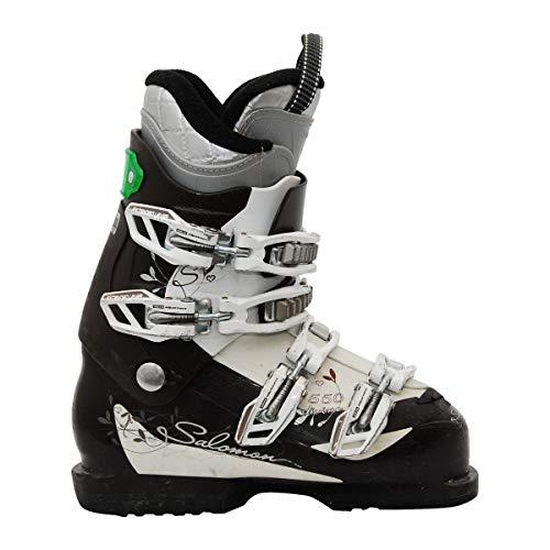 SALOMON Bota de esquí usada Divine 550 marrón Blanco