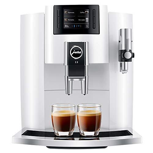 Jura E8 Coffee Machine 15341 Piano White