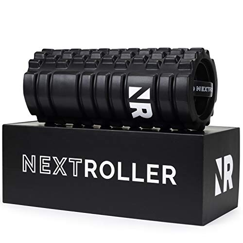 NextRoller 3-Speed Vibrating Foam Roller - High Intensity Vibration for Recovery, Mobility,...