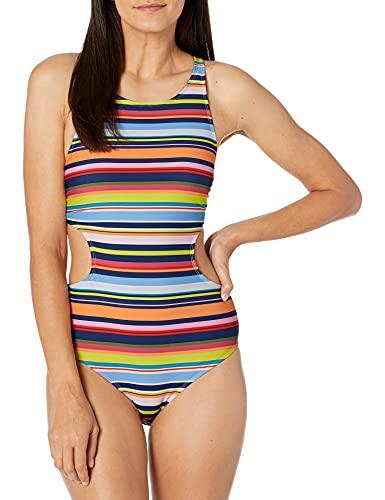 Catalina Women's 1pc Swim One Piece Swimsuit, STRP, Small