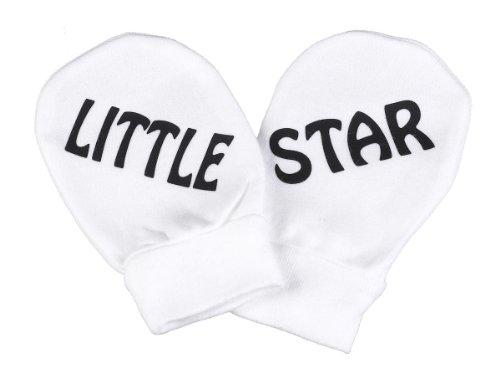 Spoilt Rotten Spoilt Rotten - Little Star 100% Baumwolle Kratzhandschuhe Fäustlinge Handschuhe