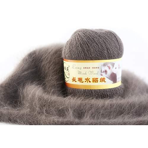 Cold Toy Cashmere Reiner Mongolischer Kaschmir Strickgarn Wolle 50g (Ratte grau)