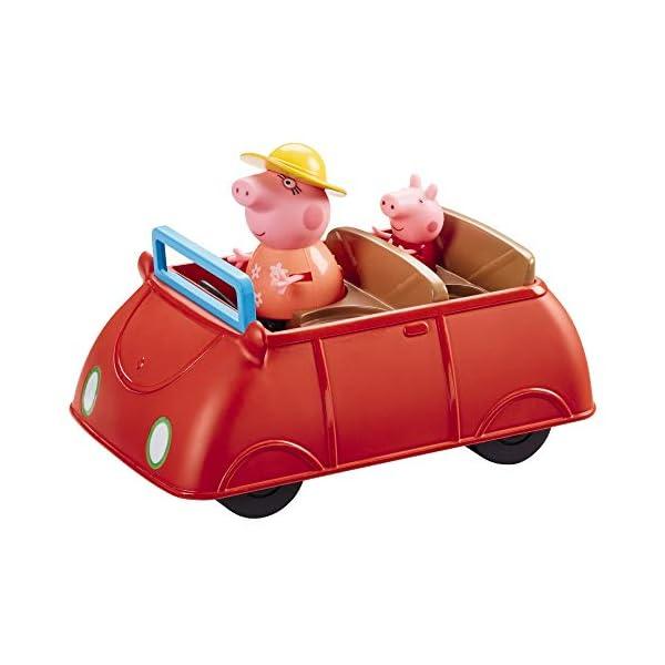 Giochi Preziosi Peppa Pig - El Coche de la Familia Pig con Sonidos y 2 Personajes
