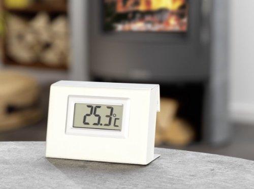 Ferntemperaturanzeiger für wassergeführten Kaminofen Justus