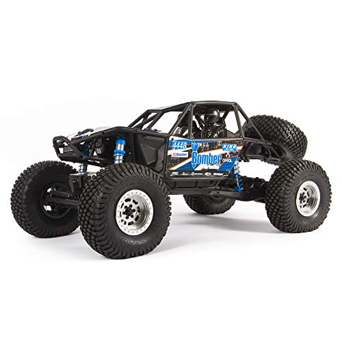 Axial RC Truck 1/10 RR10 Bomber 4WD Rock Racer Ready-to Run (Battery and Charger Not Included), Slawson, AXI03016T1