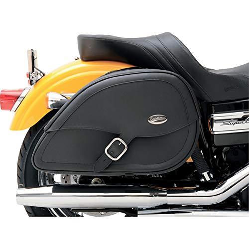 """Saddlemen 3501-0459 Drifter Satteltasche in Tropfenform mit Schock-Cutaway, schwarz, 20"""" L x 6.5"""" W x 11"""" H"""