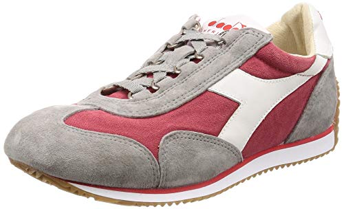 Heritage Diadora Equipe H Canvas Stone Wash American Beauty 39